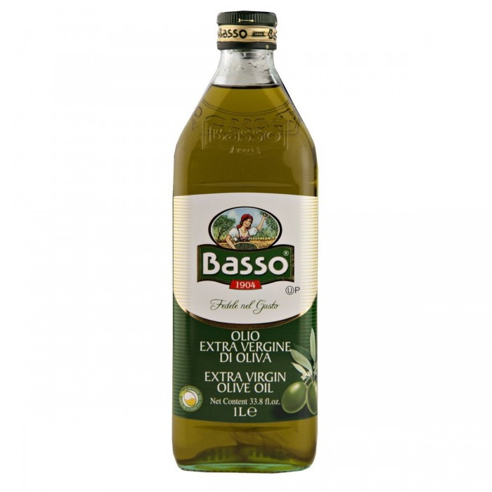 Basso Extra Virgin Olive Oil 1L glass
