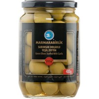 Marmarabirlik green olives with garlic 720 g