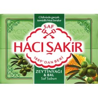 HACISAKIR OLIVE & Honey Soap 4X175G