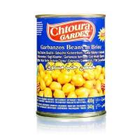 Chtoura chickpeas in brine 400g