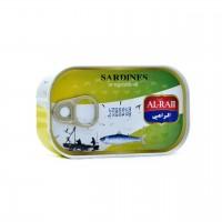 Al Raii sardines in vegetable oil 125g