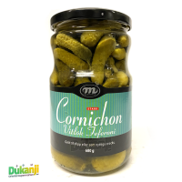 Mediteran cornichons with garlic 680ml