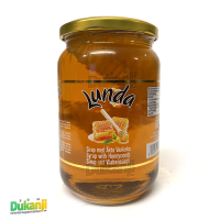 Lunda honey syrup with comb 950g