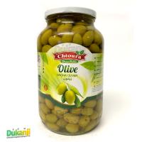 Chtoura green olives 1300g