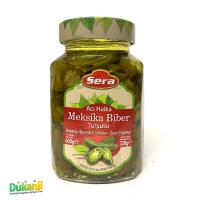 Sera pickled sliced jalapeno peppers 600g