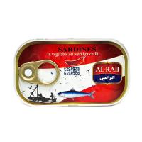 Al Raii sardines in vegetable oil with chili 125g