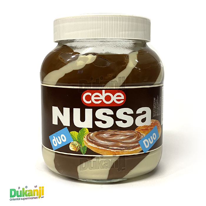 Cebe Nussa chocolate cream duo 750 gr