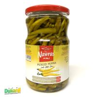 Nawras pickled hot pepper 650g