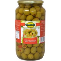 Cordoliva green olives with pepper 935 g