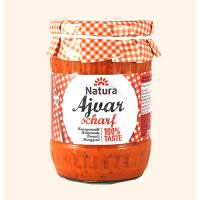 NATURA Homemade AJVAR spicy 550G