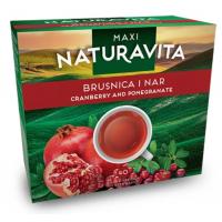 Naturavita maxi cranberry and pomegranate 40 bags 92g