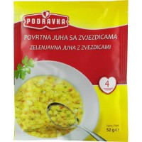 Podravka vegetable soup with pasta 52g