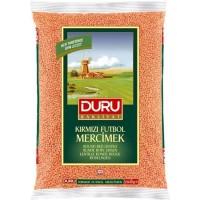 Duru round red lentils 1 kg