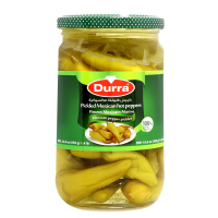 DURRA PICKLES MEXICAN HOT PEPPERS 650G
