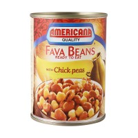 Americana fava beans with chickpeas 400g