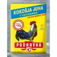 Podravka chicken soup with pasta 62g