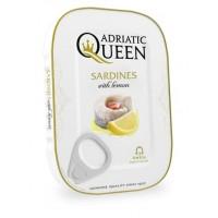 Adriatic Queen Sardines in vegetable oil with lemon 105g
