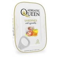 Adriatic Queen Sardines in vegetable oil with vegetables 105g