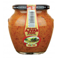 Vava homemade ajvar hot 540g