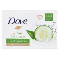 Dove soap bar fresh touch 2*100g