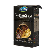 Haseeb coffee extra cardamon black 500g