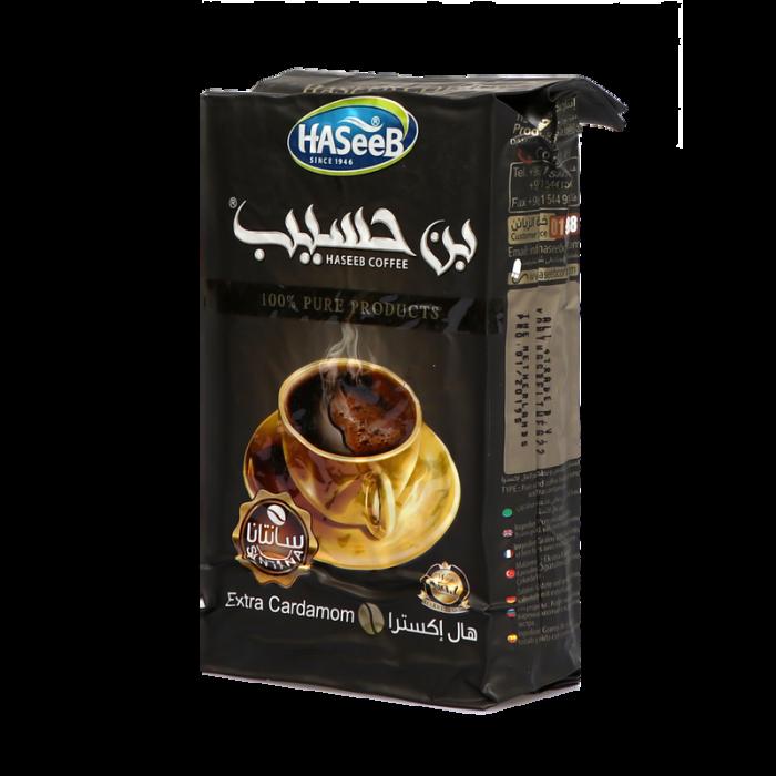 Haseeb coffee extra cardamon black 500g
