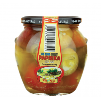 Vava mix hot cherry pepper with cheese 500g