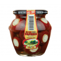 Vava red hot cherry pepper with cheese 500g