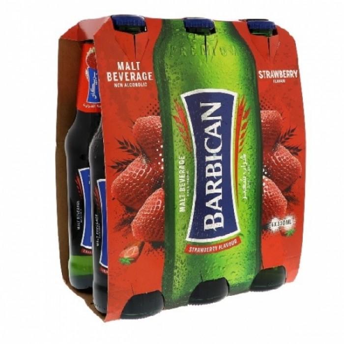 Barbican Strawberry Flavour Non Alcoholic 330ml x6