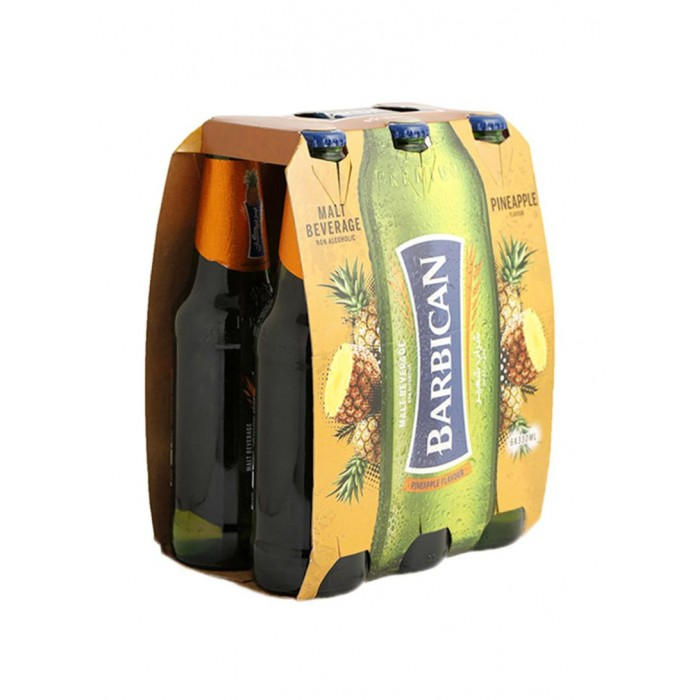 Barbican Pineapple Flavour Non Alcoholic 330ml x6