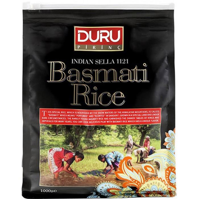DURU BASMATI RICE INDIAN SELLA 1KG