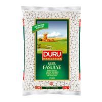 DURU WHITE BEANS (KURU FASULYE) 7MM 1KG