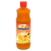 SUNQUICK Orange and Peach 700ML