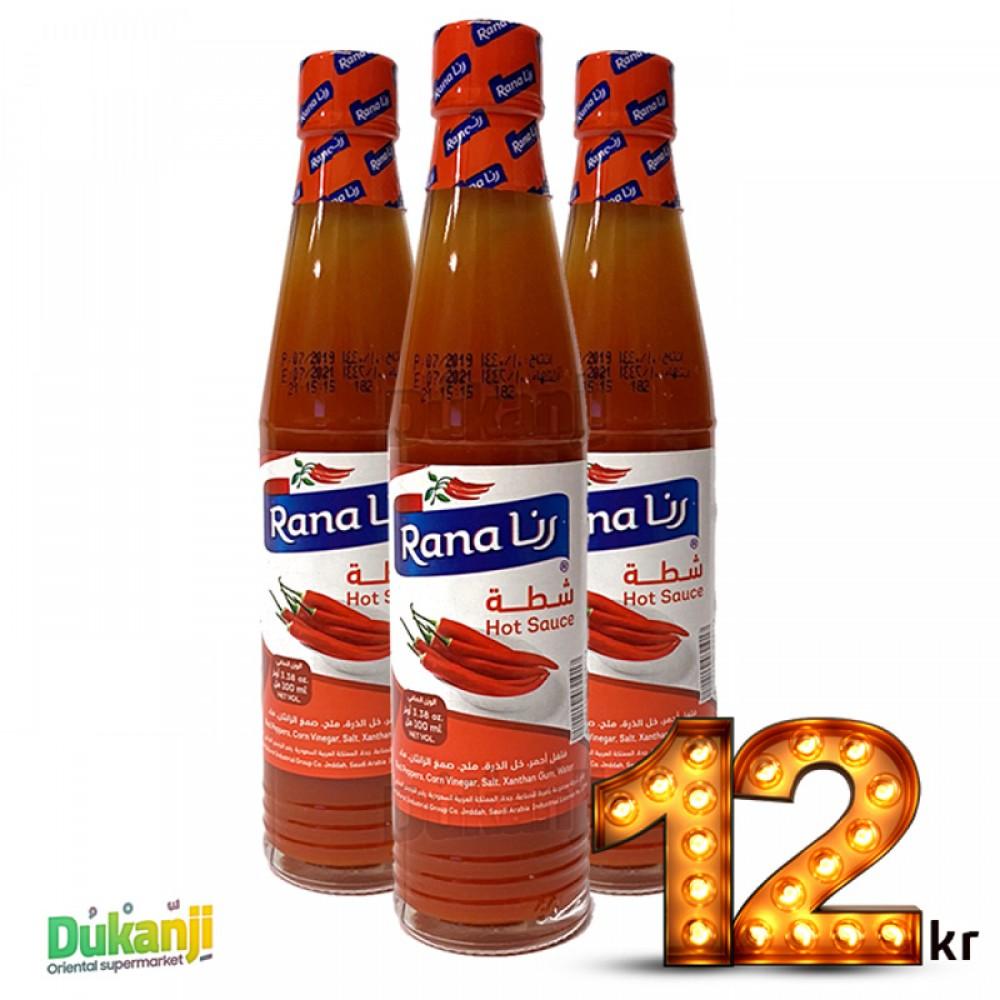 Rana Hot Sauce 88 ml x3