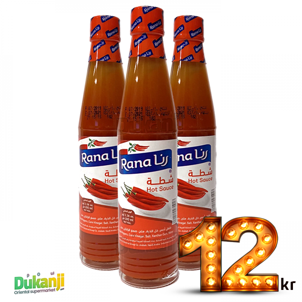 Rana Hot Sauce 88 ml x3