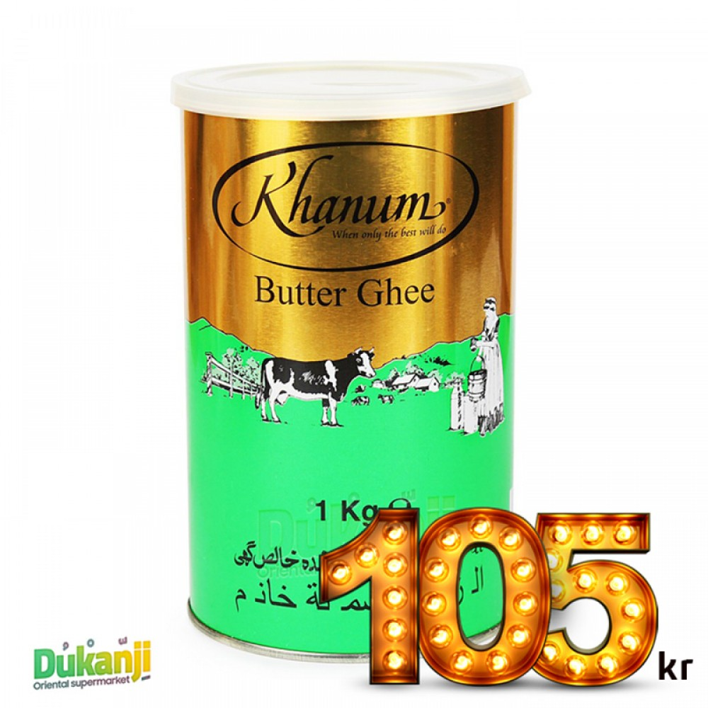 Khanum Butter Ghee 1kg