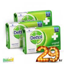 Dettol Soap 110g x3
