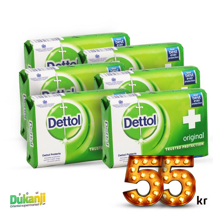 Dettol Soap 110g x6