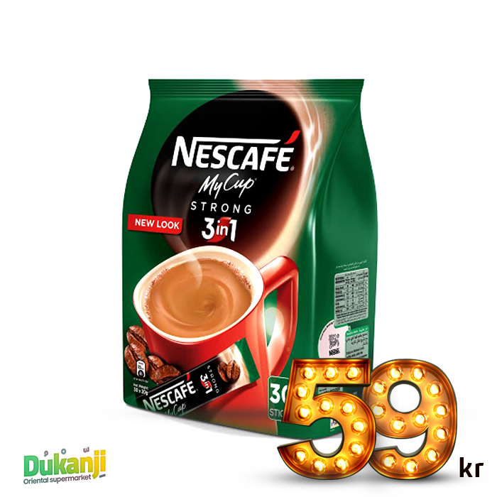 Nescafé 3 In 1 Strong 20g x 30 Sticks