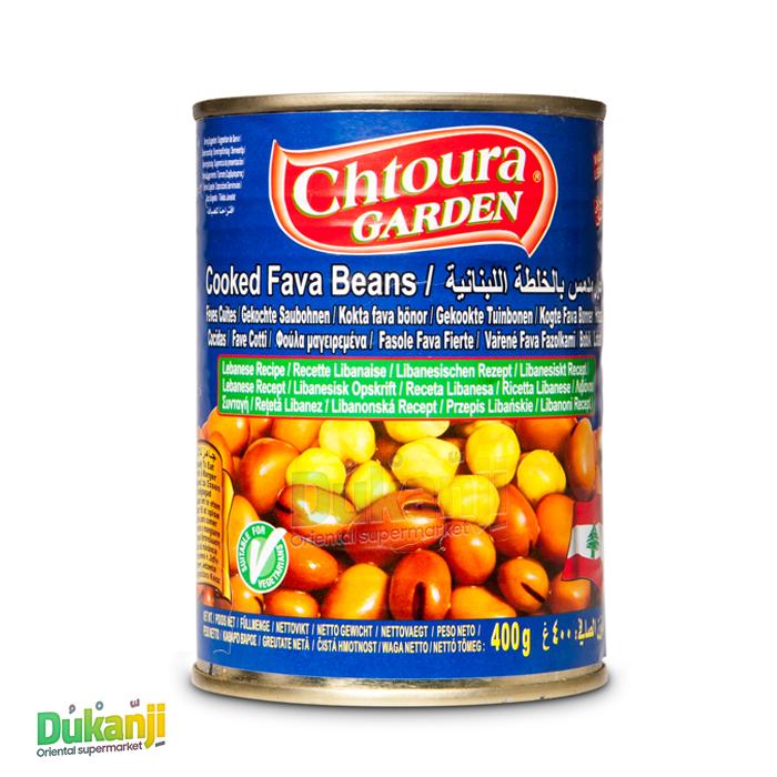 Chtoura Cooked fava beans Lebanese recipe 400g