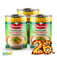 Durra Hummus with Tahini 370g +50g x3
