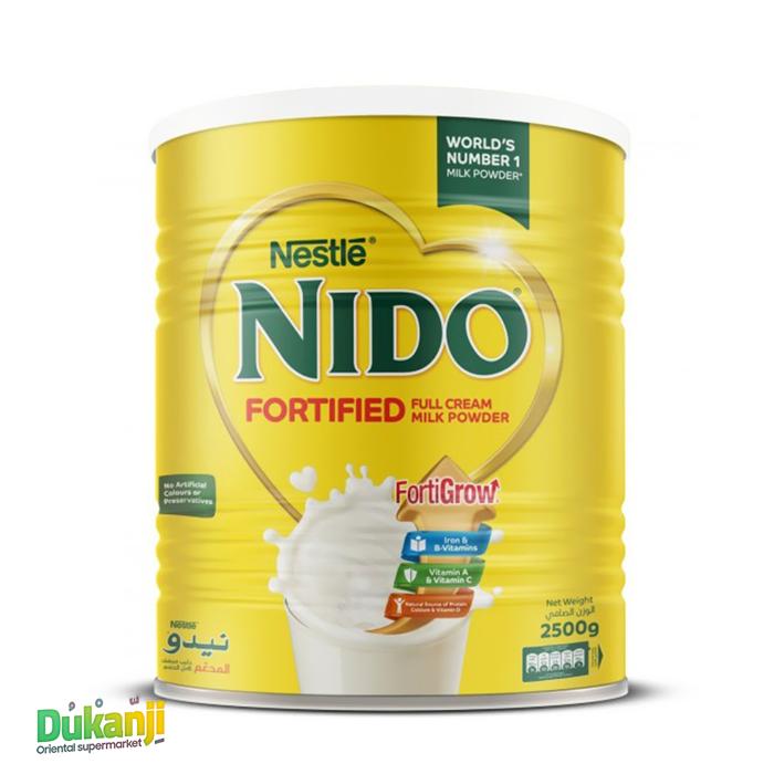 NESTLE NIDO MILK POWDER 2.5KG