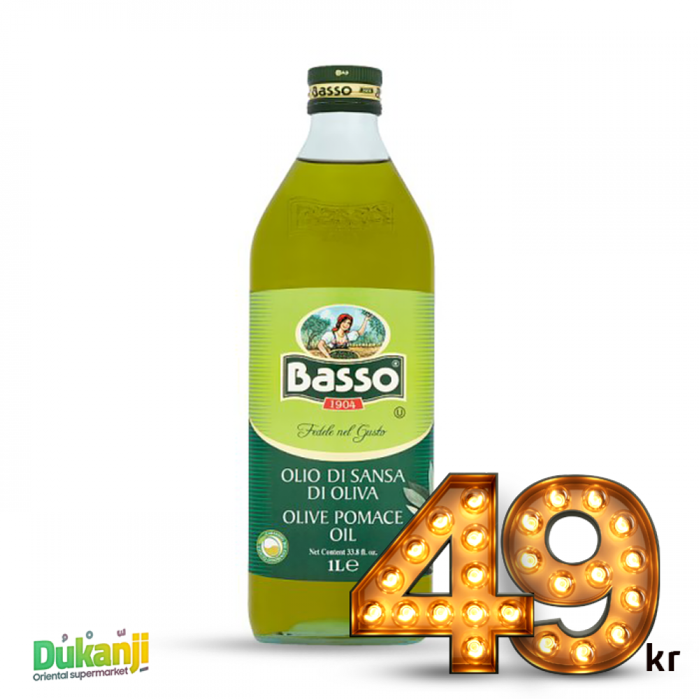 Basso Pomace Olive Oil 1L