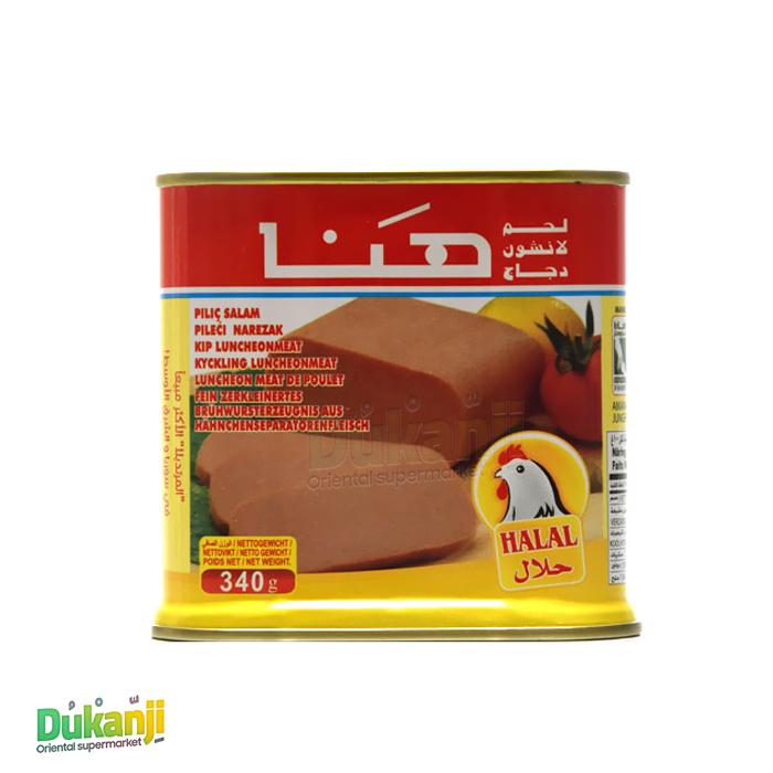Hana Chicken Mortadella 340 gr