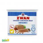Zwan Chicken Hot & Spicy Luncheon Meat 340g