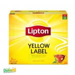 Lipton Yellow Tea label 100 tea bags