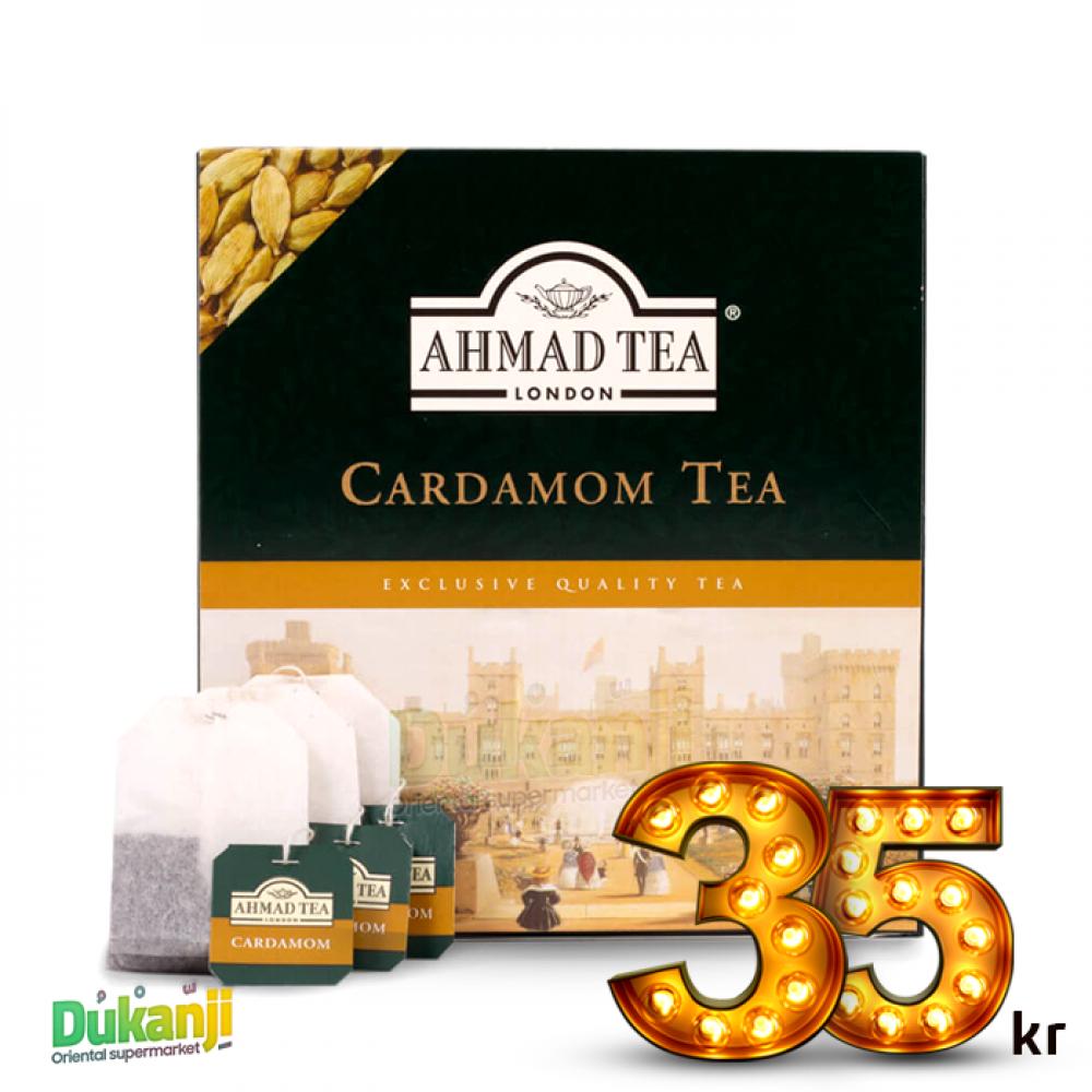 Ahmad Tea Cardamom Tea 100 Teabags