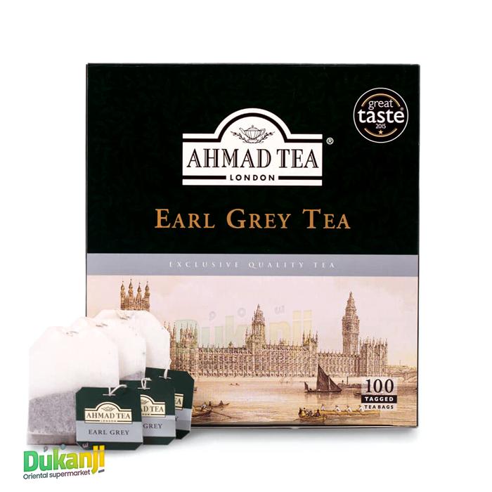 Ahmad Tea Earl Grey 100 Teabags