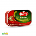 Durra Sardines with chili pepper 125g