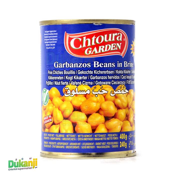 Chtoura boiled chickpeas 400g